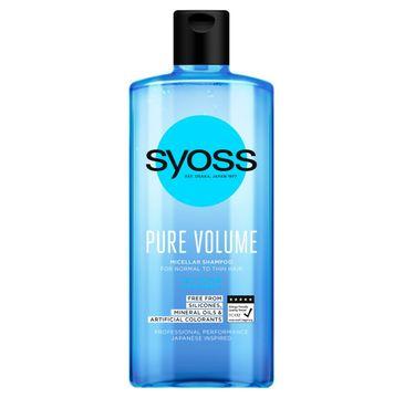 Syoss – Szampon micelarny Pure Bounce (440 ml)