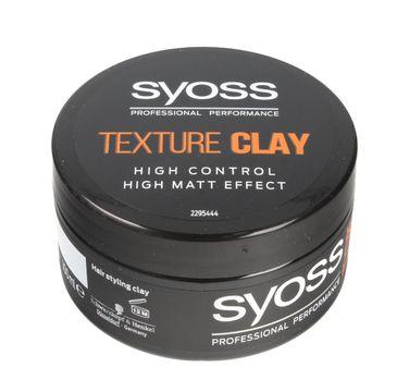 Syoss Texture Clay glinka do włosów silnie matująca 100 ml