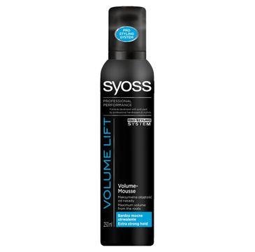 Syoss Volume Lift pianka do włosów extramocna zwiększająca objętość 250 ml