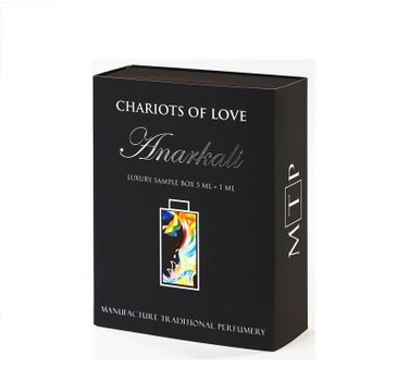 Tabacora Chariots of Love Anarkali Luxury Sample Box 5ml + 1ml