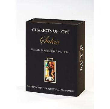 Tabacora Chariots of Love Salim Luxury Sample Box 5ml + 1ml