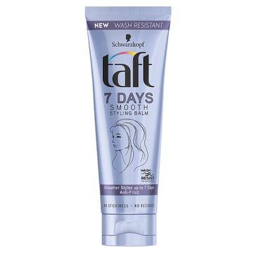 Taft 7 Days Smooth Styling Balm wygładzający balsam do modelowania włosów 75ml