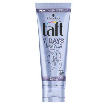 Taft 7Days Smooth Balsam do włosów wygładzający 75ml