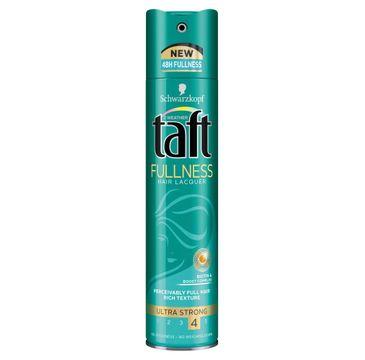 Taft Fullness lakier do każdego typu włosów nadający objętość 250 ml