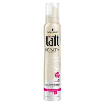 Taft Keratin Complete pianka do każdego typu włosów ultramocna z keratyną 200 ml