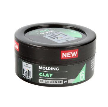 Taft Looks Molding Clay Glinka modelująca do włosów  75ml