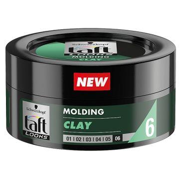 Taft Looks Molding Clay modelująca glinka do włosów 75ml