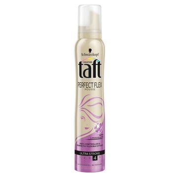 Taft Perfect Flex pianka do każdego typu włosów ultra strong 200 ml