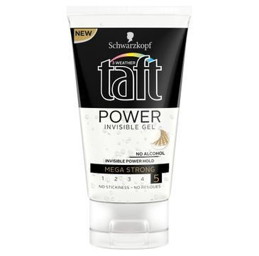 Taft Power Invisible żel do modelowania włosów 150 ml