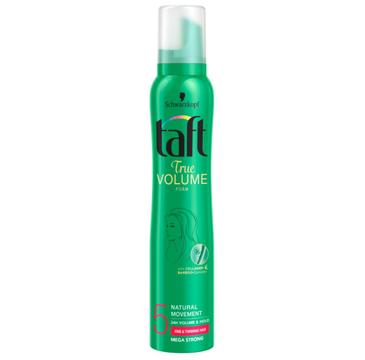 Taft True Volume pianka do każdego typu włosów megamocna (200 ml)