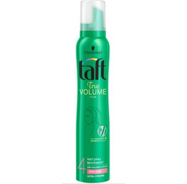 Taft True Volume pianka do każdego typu włosów supermocna (200 ml)