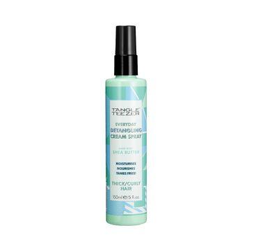 Tangle Teezer Everyday Detangling Cream Spray Thick/Curly Hair spray do rozczesywania włosów kręconych (150 ml)