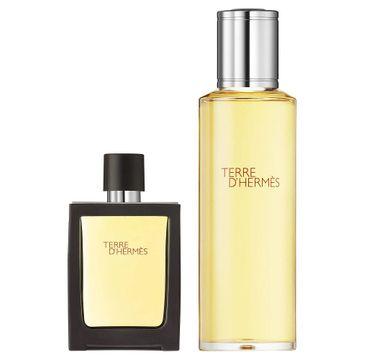 Terre D'Hermes zestaw perfumy z możliwością napełnienia 30ml + zapas 125ml (1 szt.)