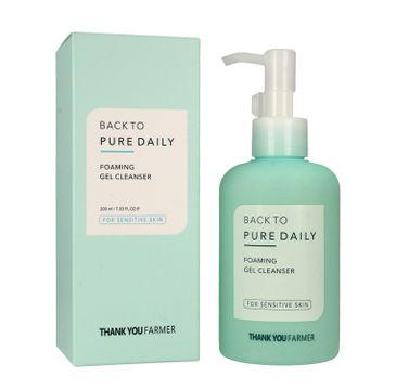 Thank You Farmer Back to Pure – żel do mycia twarzy (200 ml)