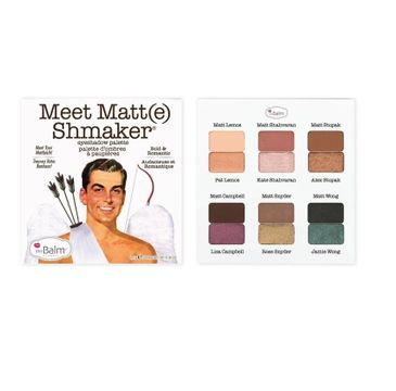 The Balm Meet Matt Shmaker paletka 12 cieni do powiek 9,6g
