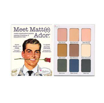The Balm Meet Matte Ador paleta cieni do powiek 21,6g