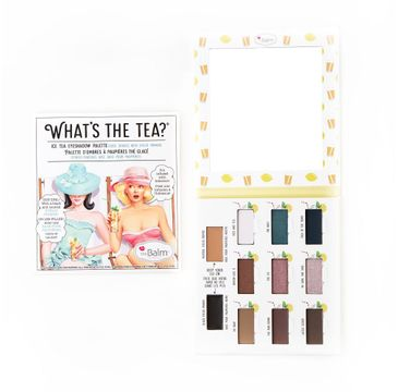The Balm What's The Tea? Eyeshadow Palette paleta cieni do powiek Ice Tea