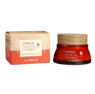 The SAEM Chaga Anti-Wrinkle krem przeciwzmarszczkowy do twarzy 50 ml