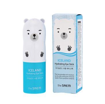 The Saem Iceland Hydrating Eye Stick – nawilżający sztyft pod oczy (7 g)