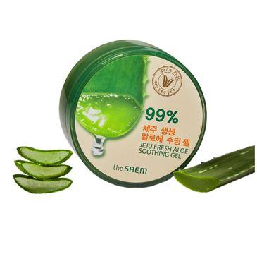 The SAEM Jeju Fresh Aloe Soothing Gel żel aloesowy 99% 300 ml