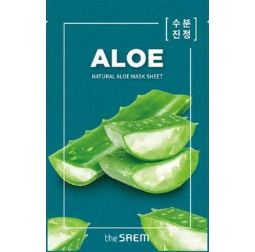 The SAEM Natural Mask Sheet maska na tkaninie Aloe 21 ml