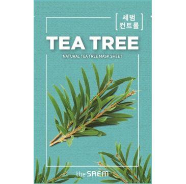 The SAEM Natural Mask Sheet Maska na tkaninie Tea Tree 21 ml