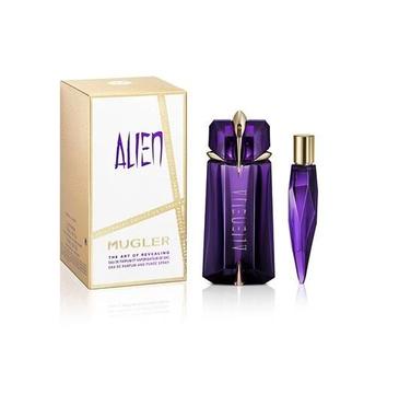 Thierry Mugler – Alien zestaw woda perfumowana spray 90ml + miniatura wody perfumowanej 10ml (1 szt.)