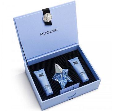 Thierry Mugler Angel zestaw woda perfumowana spray 25ml + żel pod prysznic 50ml + balsam do ciała 50ml