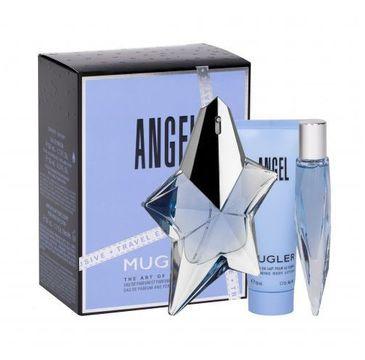 Thierry Mugler Angel zestaw woda perfumowana spray 50ml + miniatura wody perfumowanej 10ml + mleczko do ciała 50ml