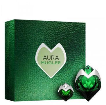 Thierry Mugler Aura zestaw woda perfumowana refillable spray 50ml + woda perfumowana 5ml (1 szt.)