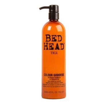 Tigi Bed Head Colour Goddess Conditioner odżywka do włosów farbowanych dla brunetek 750ml