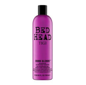 Tigi Bed Head Dumb Blonde Reconstructor odbudowująca odżywka do włosów blond zniszczonych zabiegami chemicznymi (750 ml)