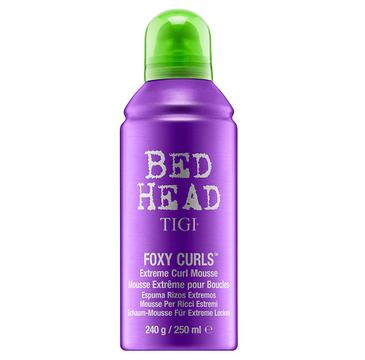 Tigi Bed Head Foxy Curls Extreme Curl Mousse pianka do włosów kręconych 250ml