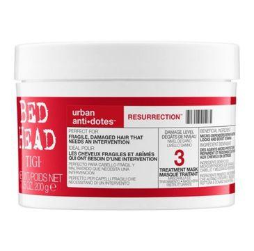 Tigi Bed Head Urban Antidotes Resurrection Treatment Mask maska regenerująca do włosów 200g