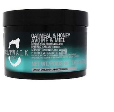 Tigi Catwalk Oatmeal & Honey Intense Nourishing Mask maska silnie odżywiająca włosy 200g