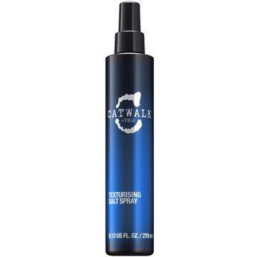 Tigi Catwalk Texturising Salt Spray teksturyzujący spray do włosów nadający efekt plażowy 270ml
