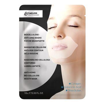 Timeless Truth Mask Anti-Aging Bio Cellulose Mouth Mask kolagenowa maseczka na usta z biocelulozy 10ml