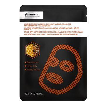 Timeless Truth Mask Bio Cellulose Bee Venom + Royal Jelly Miracle Mask odmładzająca maseczka z biocelulozy Jad Pszczeli & Mleczko Pszczele