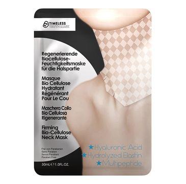 Timeless Truth Mask Firming Bio Cellulose Neck Mask ujędrniająca maseczka na szyję z biocelulozy 30ml