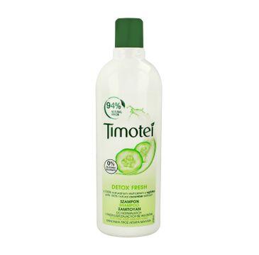 Timotei szampon do włosów przetłuszczających się ogórek 400 ml