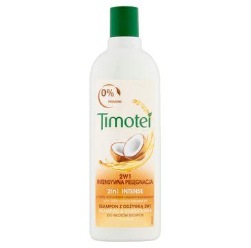 Timotei szampon i odżywka do każdego typu włosów intensywna pielęgnacja 400 ml