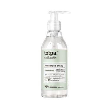 Tołpa Authentic żel do mycia twarzy (195 ml)
