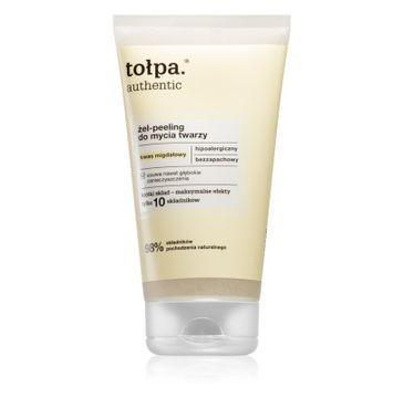 Tołpa Authentic Żel-peeling do mycia twarzy (150 ml)