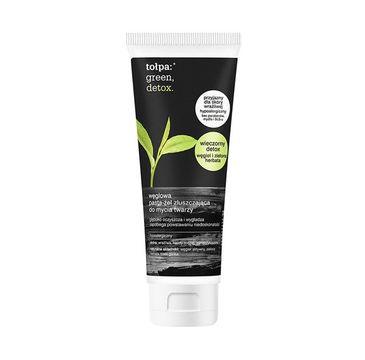 To艂pa 鈥� Green Detox W臋glowa pasta-偶el z艂uszczaj膮ca do mycia twarzy (125 ml)