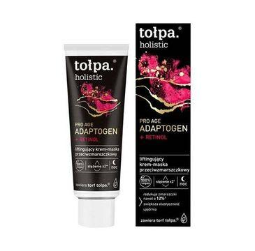 Tołpa – Liftingujący krem - maska przeciwzmarszczkowa na noc Holistic (40 ml)