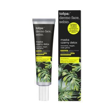 Tołpa – Dermo Face Sebio Maska Czarny detox (40 ml)
