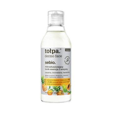 Tołpa Sebio – mikrozłuszczający tonik-esencja 3 enzymy (200ml)