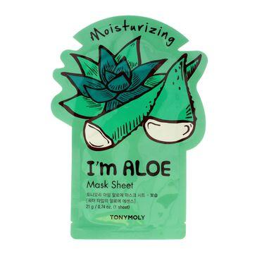 TONY MOLY I'M REAL ALOE Aloesowa maska w płachcie 21g