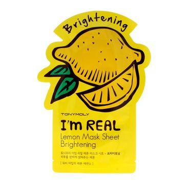 TONY MOLY I'M REAL Cytrynowa maska w płachcie 21g