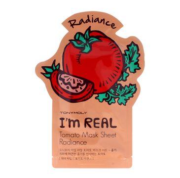 TONY MOLY I'M REAL Pomidorowa maska w płachcie 21g